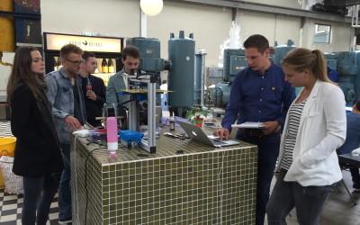 Prototypes maken op Strijp-S met 55 ondernemende Fontysstudenten