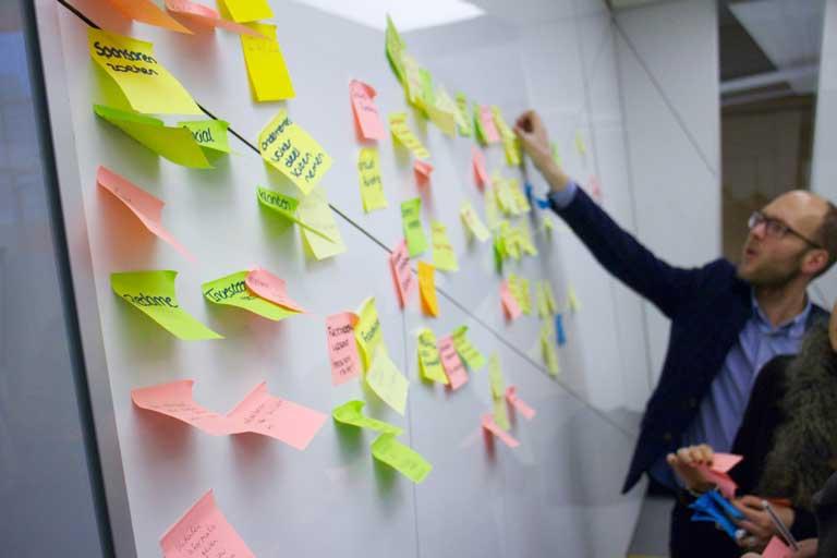Creatieve Brainstormsessie concreet resultaat Bliqsem