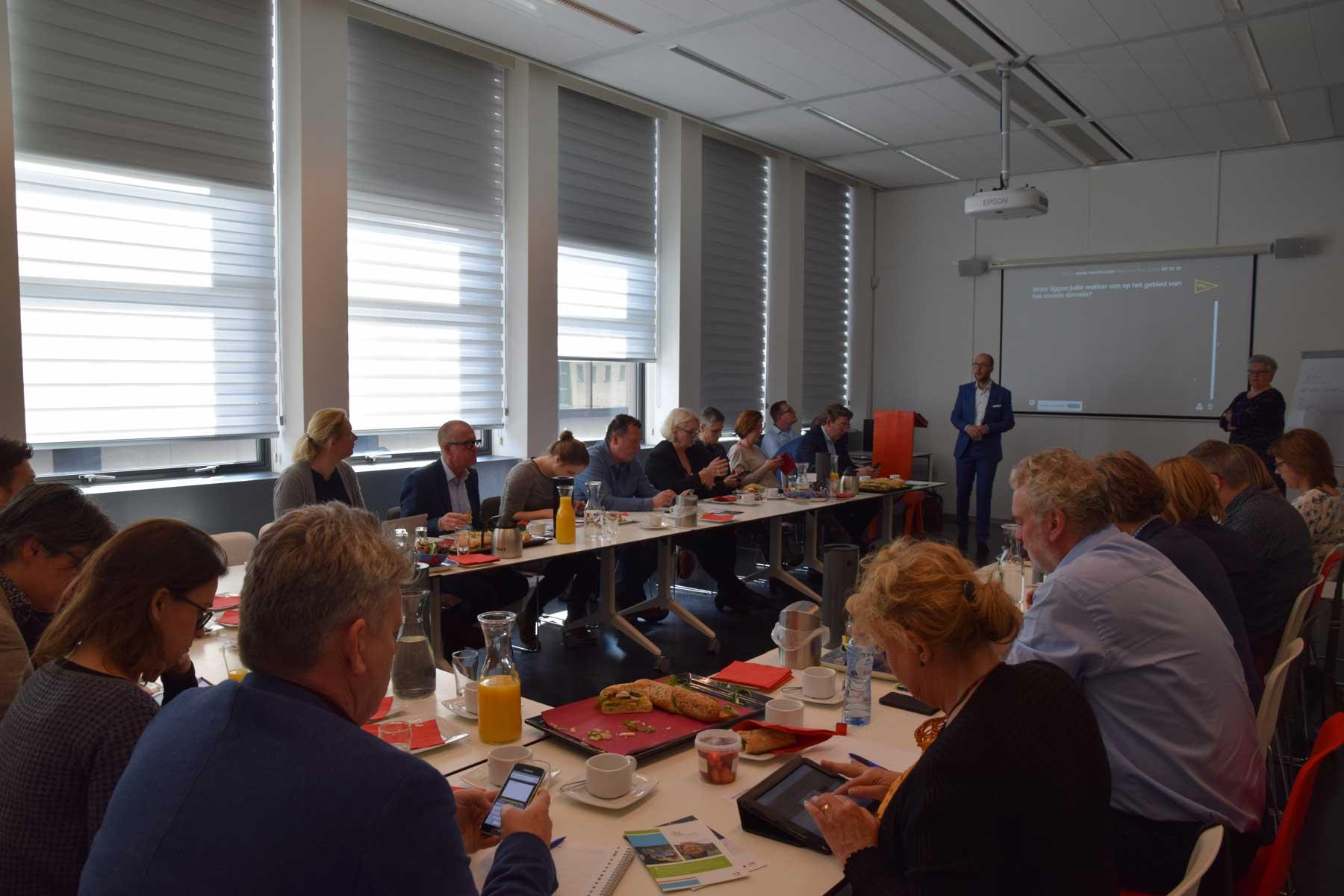 Bliqsem interactieve presentatie organiseren coöperatie Slimmer Leven 2020