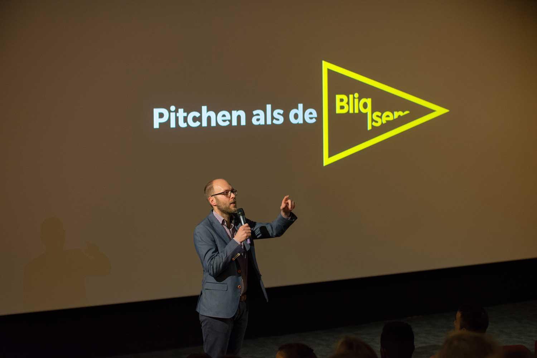 Pitchtraining Fontys best business Bliqsem leren pitchen